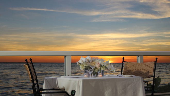 Sale e Pepe, located within the Marco Beach Ocean Resort, offers fine dining with a Gulf view. The restaurant recently won its 11th consecutive award from Wine Spectator magazine.