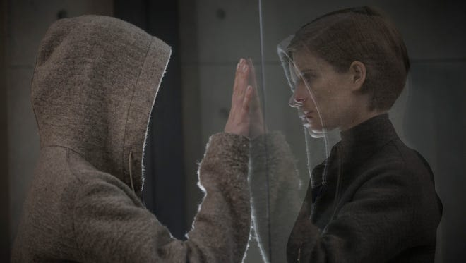 Kate Mara, right,  investigates a seemingly innocent human named Morgan played by Anya Taylor-Joy, left, who presents a mystery of both infinite promise and incalculable danger. The movie opens Friday at Regal West Manchester Stadium 13, Frank Theatres Queensgate Stadium 13 and R/C Hanover Movies.