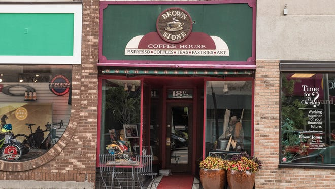 Brownstone Coffee House has been a part of downtown Battle Creek for 15 years.