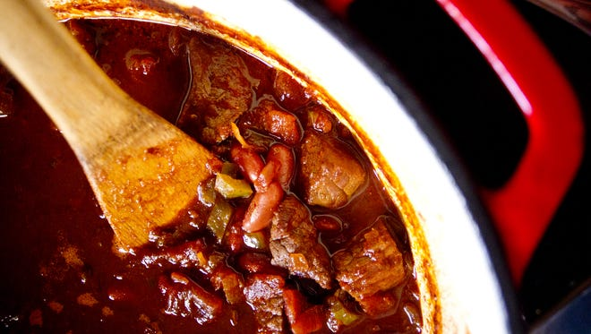 Step up your chili with stew meat instead of ground beef.