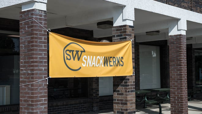 Snackwerks, a company launched by former Kellogg Co. employee Jeff Grogg, is a contract food and snacks manufacturer that opened in May 2016 at 166 E. Goodale Ave. in Battle Creek.