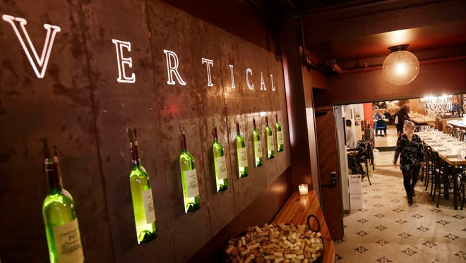 Vertical Detroit wine bar and restaurant is located in the Ashley apartment building on Centre Street in downtown Detroit.