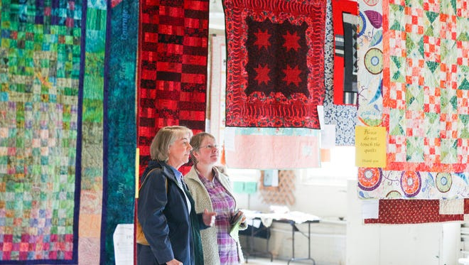 Quiltopia: Spectacular quilt show and sale benefits Helping Hands Resources, 10 a.m. to 5 p.m. Nov. 2-3, Willamette Heritage Center, 1313 Mill St. SE. $7 or $5 for Willamette Heritage Center members. quiltopiawillamettevalley.wordpress.com or 503-585-7012.