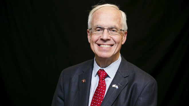"""Dr. William """"Bud"""" Pierce, current president of the Mid-Willamette Valley United Way"""