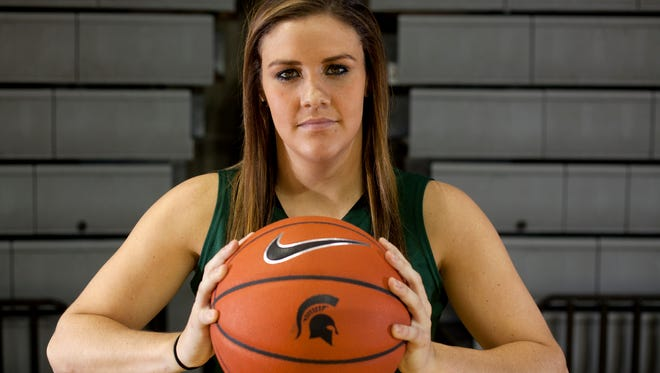 Senior guard Tori Jankoska is living out a dream at Michigan State and hopes to put together a strong final chapter.