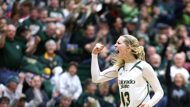 CSU's Ellen Nystrom has been tabbed as the Mountain West Preseason Player of the Year for the 2016-17 season.