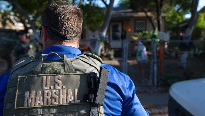 Ten Corpus Christi men were arrested Friday in Operation City Shield.