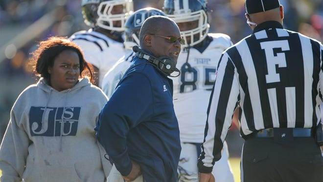 """Jackson State coach Tony Hughes said Tuskegee is going to present the Tigers with a """"tremendous challenge"""" when the two teams meet Saturday night in Mobile."""
