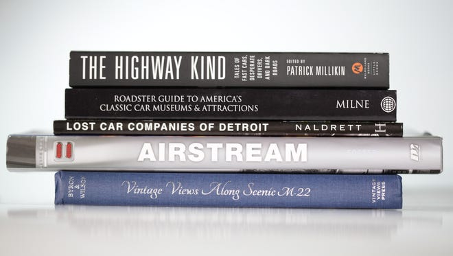 Books as gifts with a car theme for the holidays.