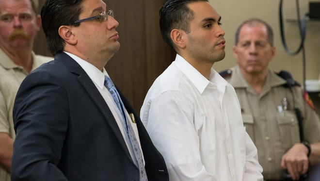 Heriberto Saenz was found guilty of murder and three counts of aggravated assault Tuesday. Saenz was convicted in the 2009  drive-by shooting that killed Clarryssa Silguero and injured three men.