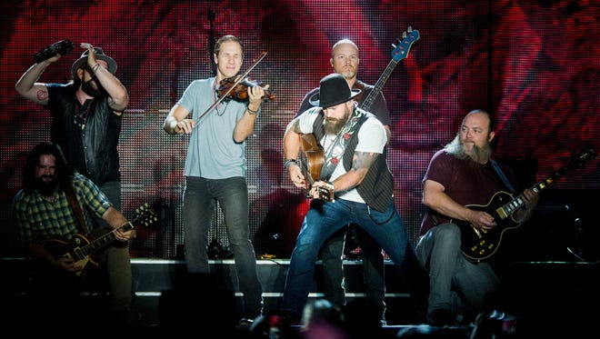 The Zac Brown Band will perform in Gatlinburg on Saturday, Dec. 17, to help those affected by the wildfires that swept through the East Tennessee town on Nov. 28.