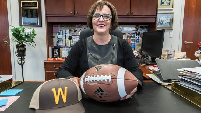 Western Michigan Athletic Director Kathy Beauregard.