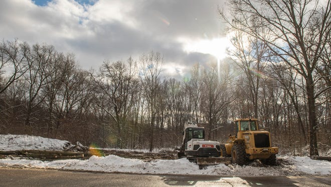 Battle Creek Unlimited has begun a process to clear more than 80 acres of wooded land in the Fort Custer Industrial Park to create shovel-ready sites for companies eyeing the area for expansion.