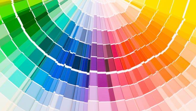 2017 Pantone colors.