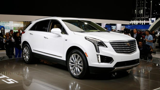 The 2017 Cadillac XT5 is one of several models that Cadillac is offering through its new BOOK by Cadillac plan under which consumers can pay $1,500 per month for access to any of the available models, which include the Escalade SUV, CT6 sedan and V-series of the ATS and CTS.