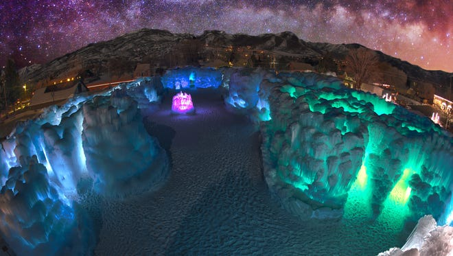 Ice Castles LLC will open its Wisconsin Dells site Jan. 13.