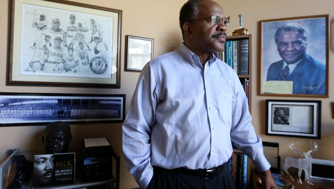 Benny Williams, the president of the Salem Keizer branch of the NAACP, at his home in Salem on Saturday, Jan. 14, 2017.