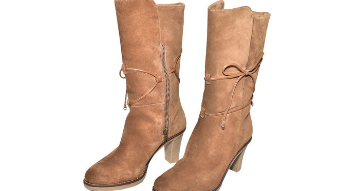 Johnston and Murphy Chestnut Boot, $248.