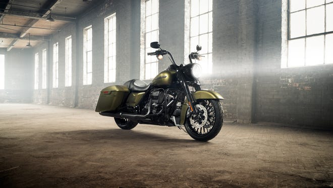 Harley-Davidson's new Road King Special was introduced Thursday.