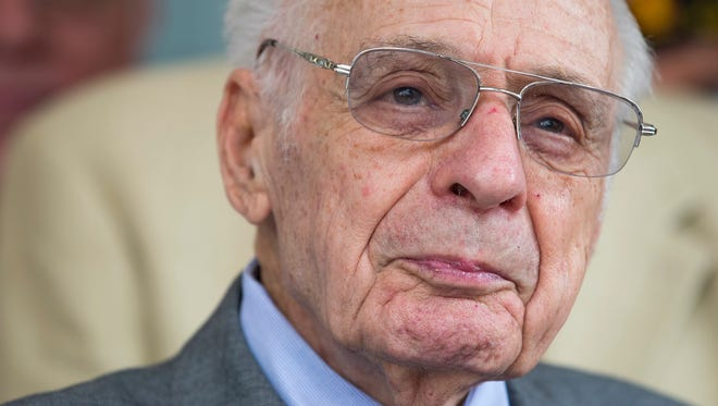 Boscov's Chairman Albert Boscov, shown in June, died Friday of cancer at age 87, his company announced.