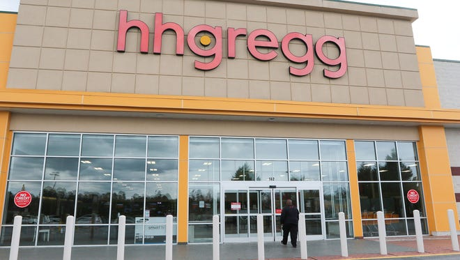HHGregg announced March 2 that it would close 88 stores in 15 states.