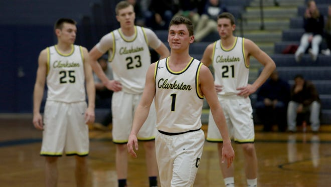 Clakston's Foster Loyer (1) is committed to Michigan State.