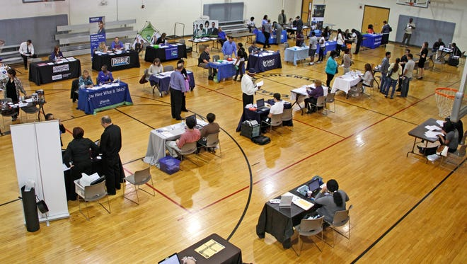 The Goodwill Career Solutions center  in Columbia will host a job fair on Tues. March 21.