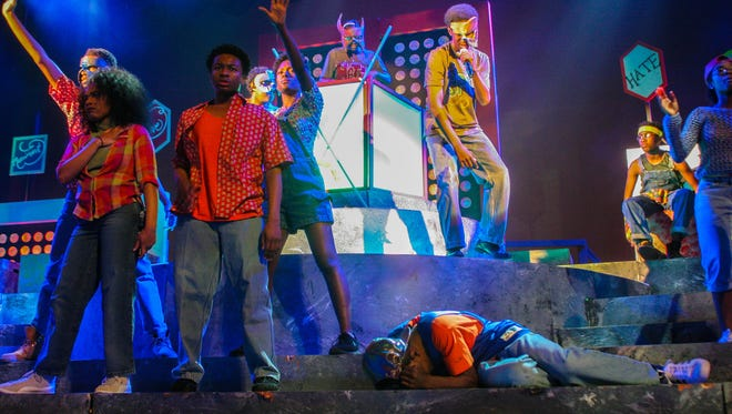 """""""heartBEAT: A Story of Love, Hate and Rhythm,"""" presented by Mosaic Youth Theatre, continues through Sunday at the Detroit Film Theatre."""