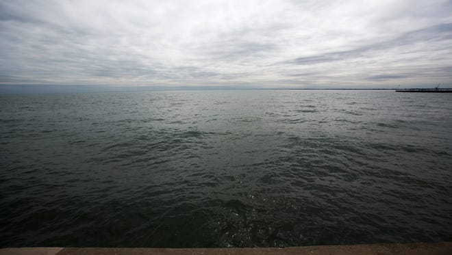 The view of Lake St. Clair
