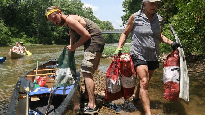 The annual River Rescue clean-up will kick off this Father's Day weekend.
