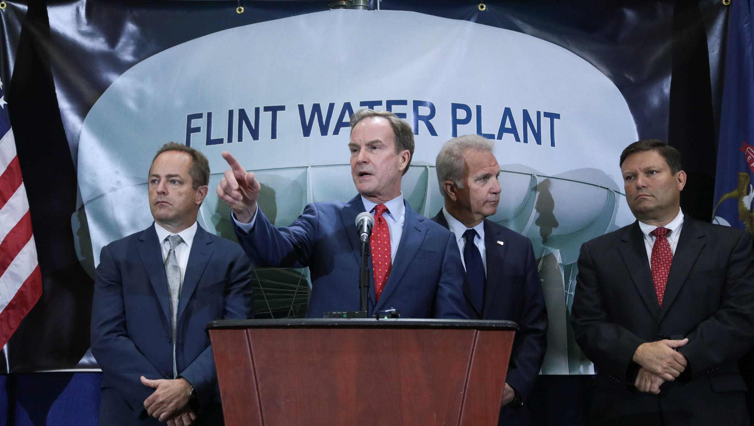 5 Officials Charged With Involuntary Manslaughter In Flint Water Probe