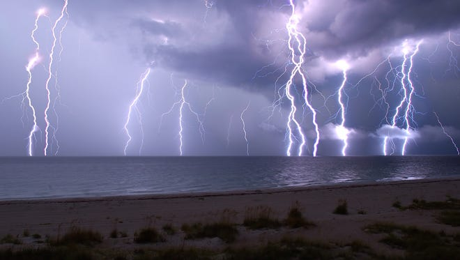 Florida is unofficially known as the Lightning Capital of the World.