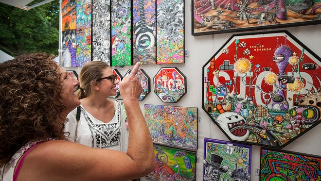 More than 130 artists offer original works of art for purchase during the free Midsummer Festival of the Arts at the John Michael Kohler Arts Center, July 15–16 in Sheboygan.