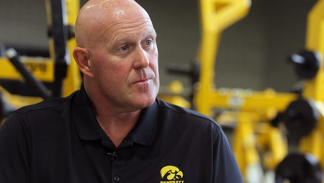 Chris Doyle, Iowa's strength and conditioning coach, looks back at his time with the football team on Monday, July 10, 2017.