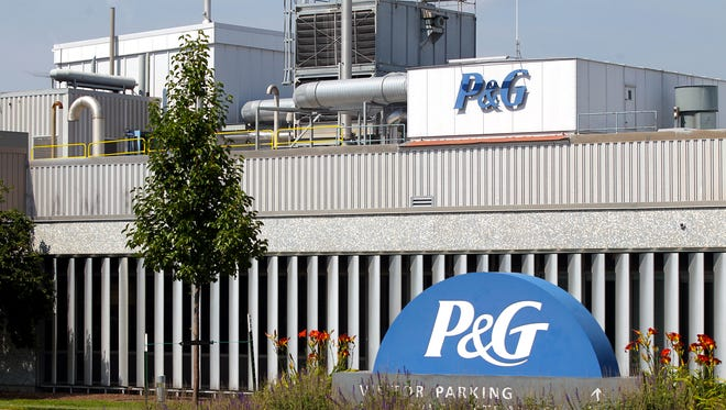 Procter and Gamble's facility on Lower Muscatine Road along Highway 6 is pictured on Wednesday, July 19, 2017.