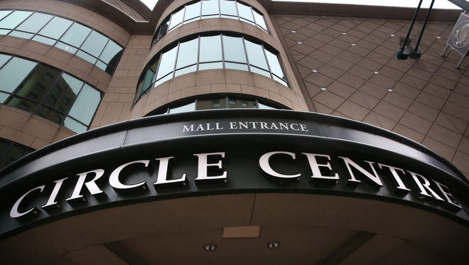 Circle Centre mall stores have been closing this week amid freezing temperatures.