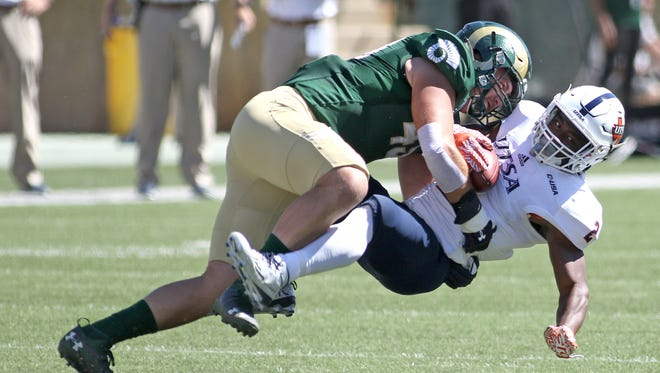 CSU linebacker Evan Colorito is one of the leaders for the Rams entering Saturday's season-opener against Oregon State.