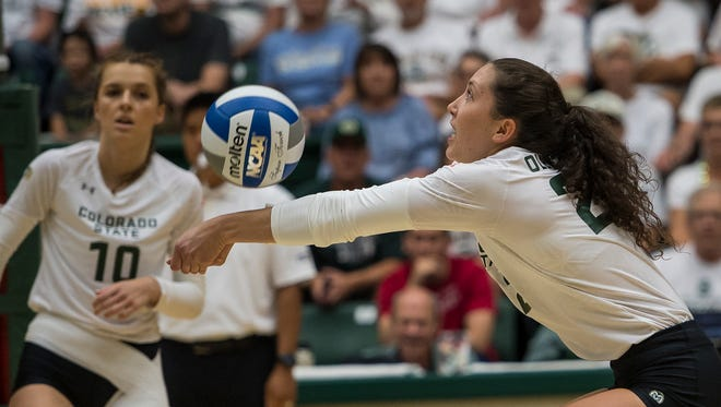 Scenes from Colorado State University volleyball's home opening loss to Duke, played Friday, August 25, 2017, at Moby Arena in Fort Collins, Colo.