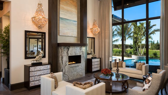 McGarvey Custom Homes' Astaire Supermodel in Talis Park has sold.