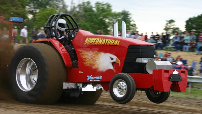 The Gree County Fall National truck and tractor pull features some of the most talented and recognized names in the tractor and truck pulling circuit.
