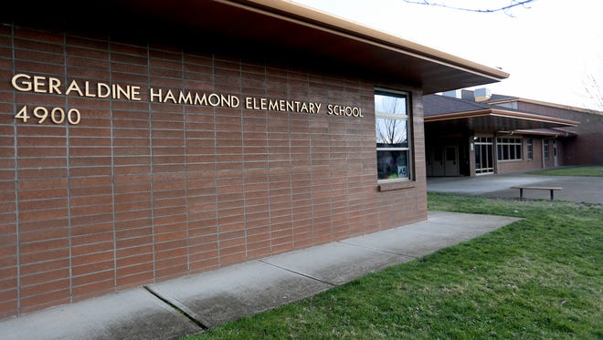 Hammond Elementary School in Salem. Photographed on Sunday, Jan. 31, 2016.