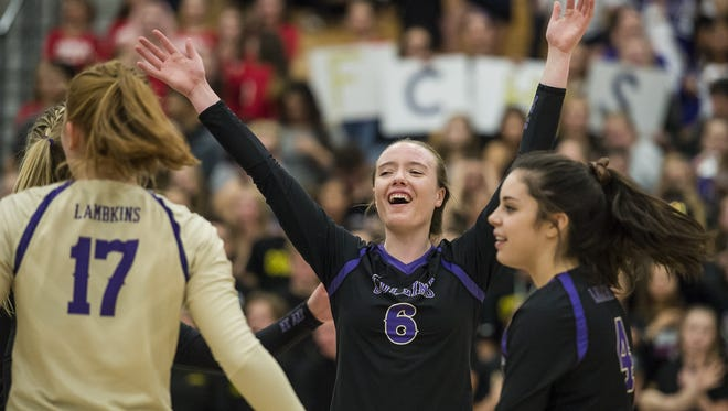 Fort Collins High School senior Taylor Rohr leads area places in aces.