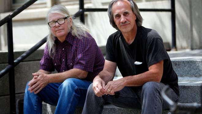 """Danny Edward """"Eddie"""" Taylor, left, and Kirk Daniel both suffered mental and physical abuse while  serving time as juveniles in Kentucky Boys Camps in the 1970s. Sept. 5, 2017"""