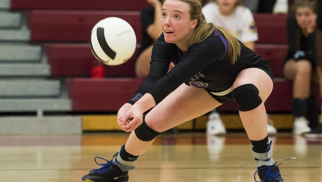 Fort Collins High School's Taylor Rohr leads area players in aces with 40.