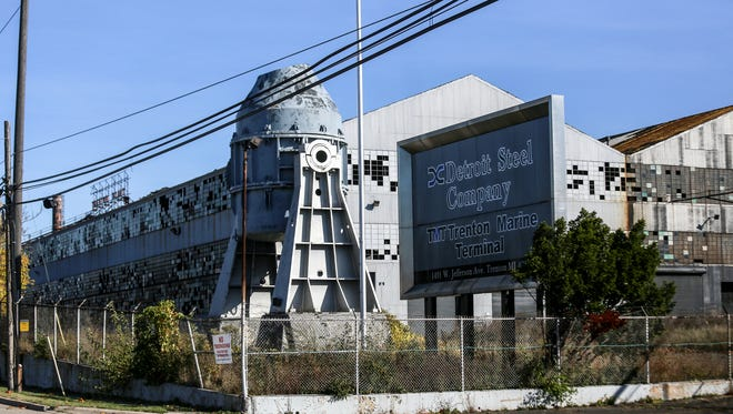 The Detroit Steel Company or the McLouth Steel Company at 1491 W. Jefferson Ave. in Trenton, Mich. photographed on Sunday, Oct. 22, 2017.