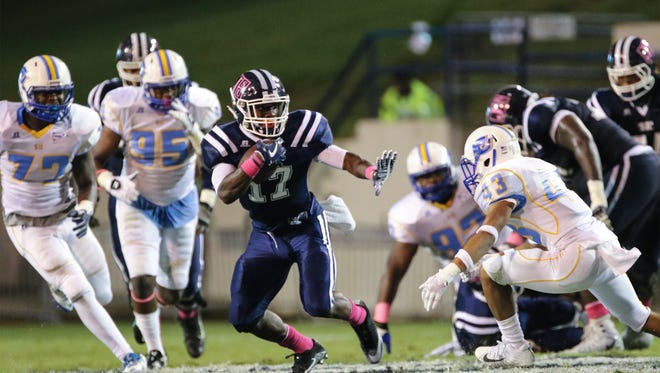 Jackson State tailback Jordan Johnson will need some running room if Jackson State is going to get a win on the road in Huntsville, Alabama.