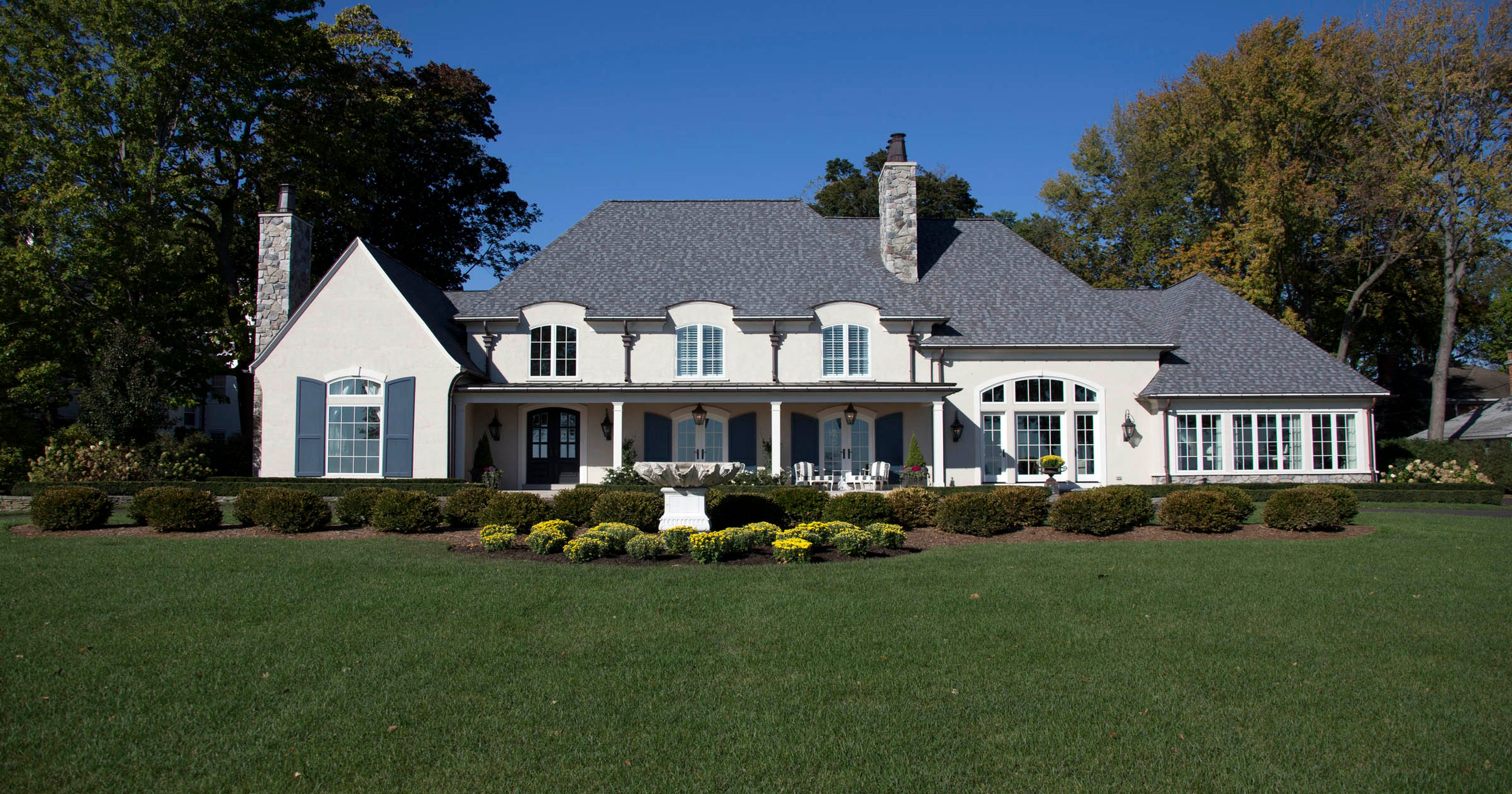 French style grosse pointe home comes with a view of lake st clair