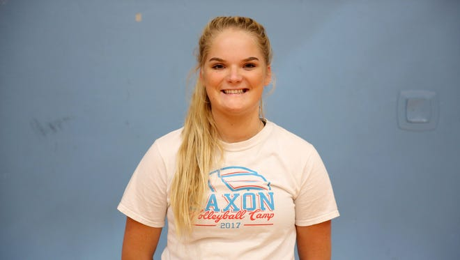 Bridgette O'Connor, a senior outside hitter with South Salem volleyball.
