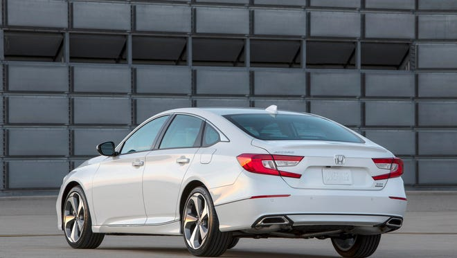 "2018 Honda Accord was named ""best car overall"" in Kelley Blue Book's 2018 Best Buy competition."
