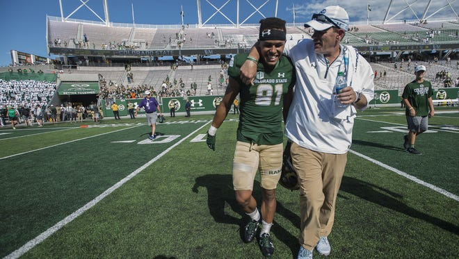 Expect Colorado State University football head coach Mike Bobo to keep hanging around.